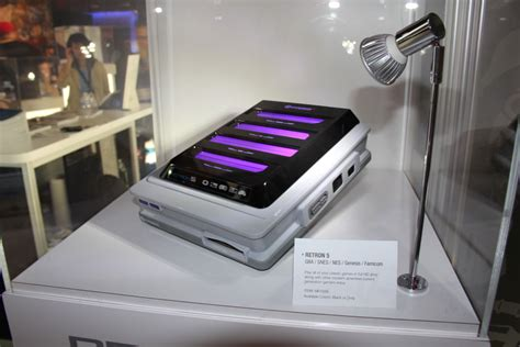 Retro Console System Brings Together The Best Of The 20th Century by E3 2013 Retron 5 Retro Gaming Console Oprainfall