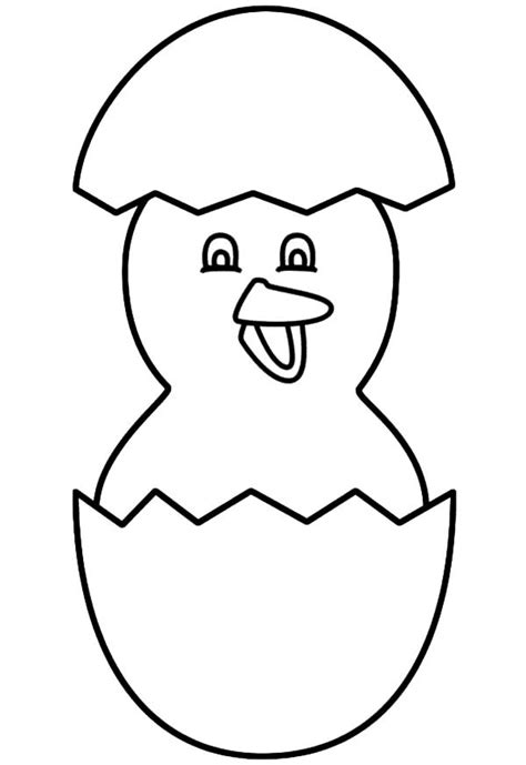 Cracked Egg Coloring Page by Easter Broken Egg Coloring Pages Best Place To