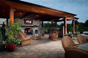 Outdoor Kitchen And Patio by Traditional Taste Of Outdoor Kitchens And Fireplaces