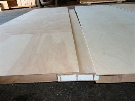 exle of buscuit joining torsion box honeycomb panels