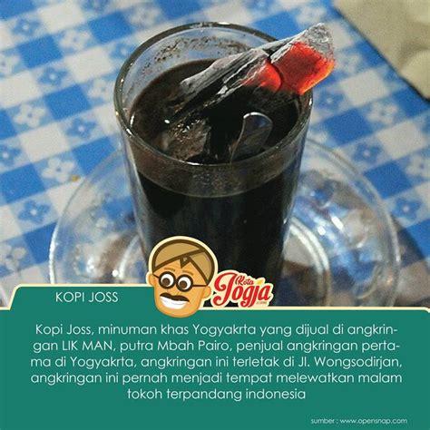 Kopi Joss kopi joss sweet coffee served with a lump of burning coal