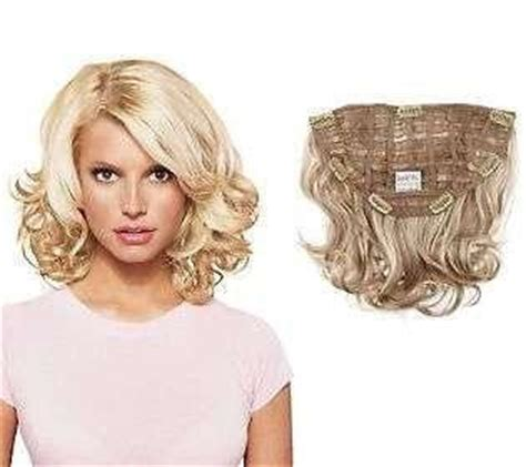 jessica simpson headband hair extensions jessica simpson 15 quot clip in wavy extension clearance 30