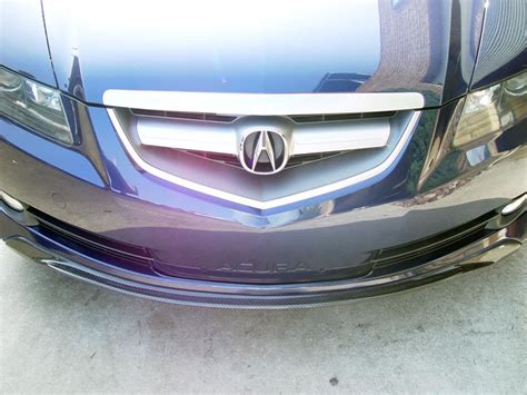 f s 2004 2006 acura tl carbon fiber a spec add on front