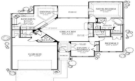 1500 sq ft house floor plans 1500 sq ft one story house