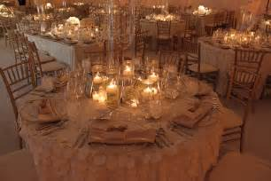 Inexpensive Glass Vases Wedding Wedding Centerpiece With Candles The Wedding Specialists