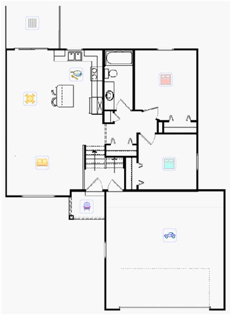 bi level floor plans bi level house plans