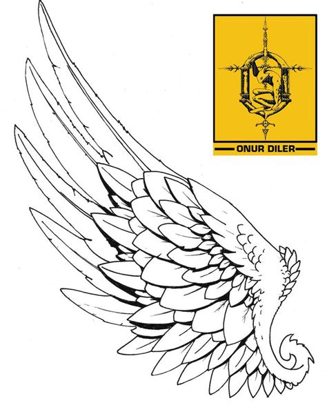 solitary angel tattoo hull hermes wing tattoo design i really like this design