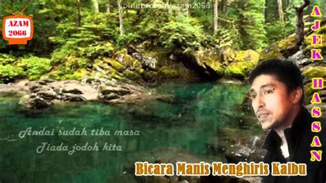 bicara manis menghiris kalbu acoustic cover by ajek hassan