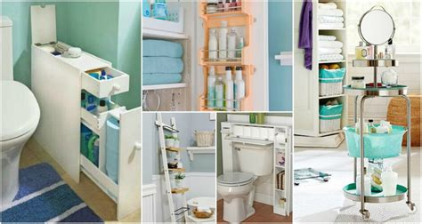 small bathroom storage solutions that are absolutely