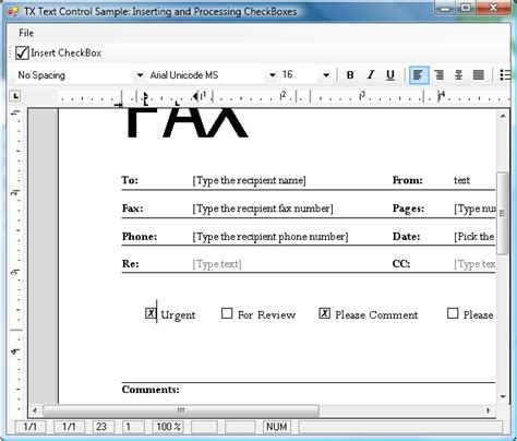 checkbox template word inserting and processing ms word compatible formcheckbox