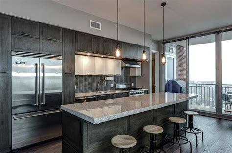 Kitchen Island With Pendant Lights 35 Luxury Kitchens With Dark Cabinets Design Ideas