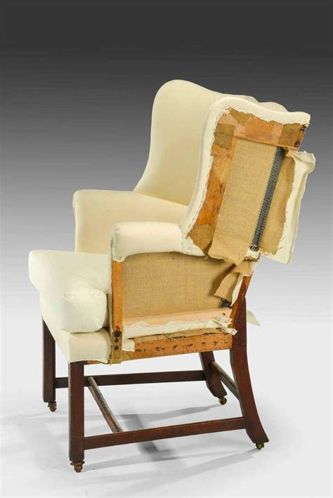 Chair Proportions by Chippendale Design Wing Chair Of Small Proportions At 1stdibs