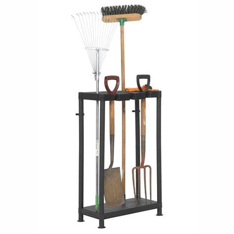 Garage Garden Tool Storage by Plastic Storage Garden Tool Holder Organizer Tidy Shed