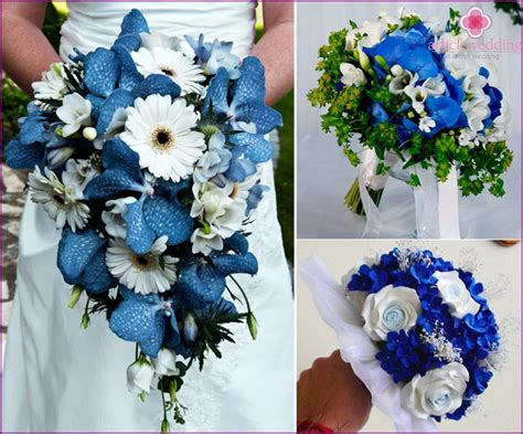 Wedding Bouquet Classes by Wedding Bouquets In Blue Advice On Choosing Fabrication
