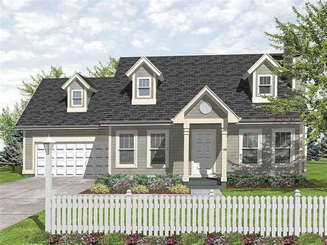 cape code house plans landscaping in front of a cape cod style house