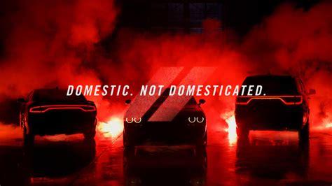 """Dodge's New """"Domestic. Not Domesticated."""" Tagline Comes"""