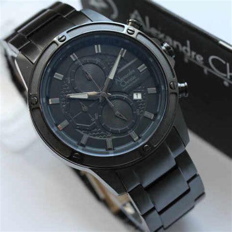 Ac 6349 Fullblack jam tangan pria terbaru ac 6386 black
