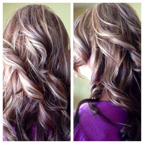 pictures of multicolor highlights multi colored hair with highlights 17 best ideas about
