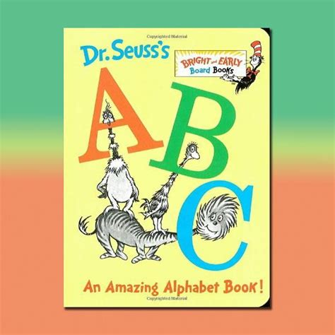 dr seuss s book of colors bright early books r books an alphabet lesson plan for preschoolers using dr seuss s