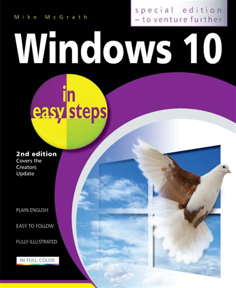 in easy steps windows 10 in easy steps special edition