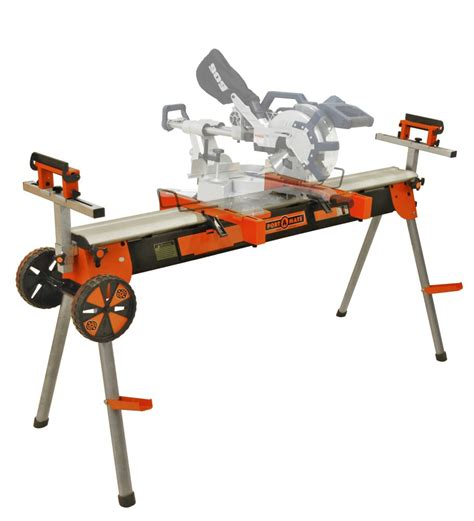 power saw bench htc pm7000 portamate folding miter saw power tool stand