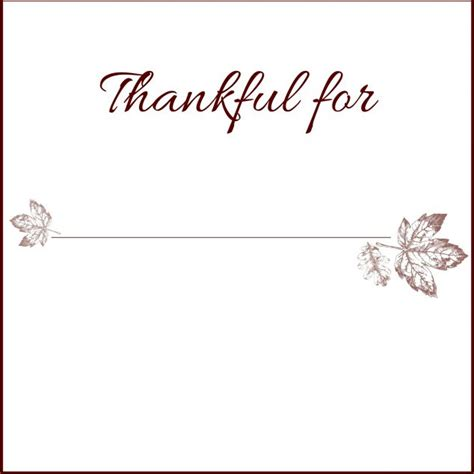 Free Printable Thanksgiving Place Cards To Color