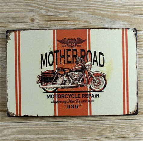 metal signs for home decor vintage plaques metal painting home decor tin signs motorcycle decoration bar craft metal