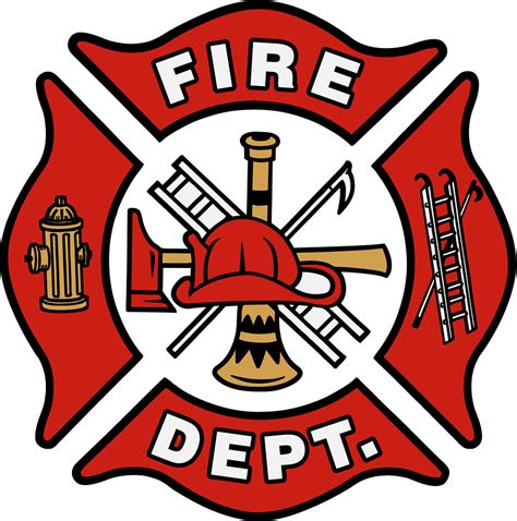 design a fire department logo fire dept blank logo clipart best