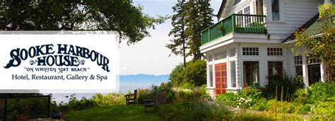 sooke harbour house enjoy 56 off 2 night stay in ocean queen room with a 50 dining room credit at sooke harbour