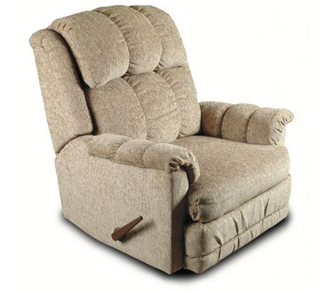 Durable Chenille Cover Contemporary Deluxe Rocker Recliner