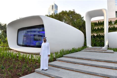 3d printing architecture building structures houses dubai debuts the world s first fully 3d printed building