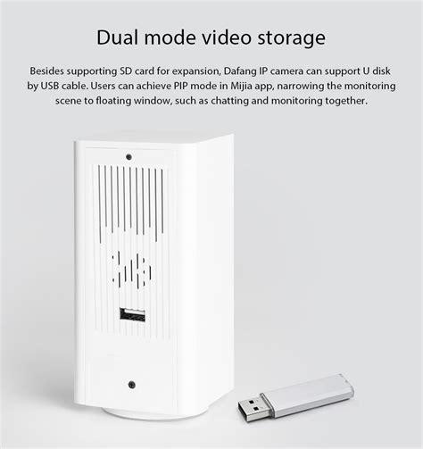 Xiaomi Dafang Smart 1080p Wifi Ip With 120 Degree Fov xiaomi dafang smart 1080p wifi ip white
