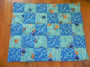 finding nemo inspired baby quilt by herethereeverywhere on