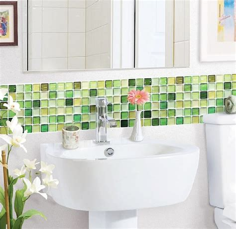 green and white tiles for bathroom 17 best ideas about green bathrooms on pinterest green