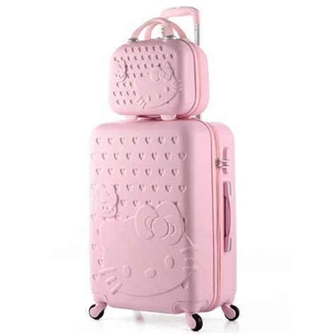 Luggage Bag Covers Hello 20 Inch 14 20 inch hello travel suitcase abs spinner rolling luggage suitcases on wheels trolley