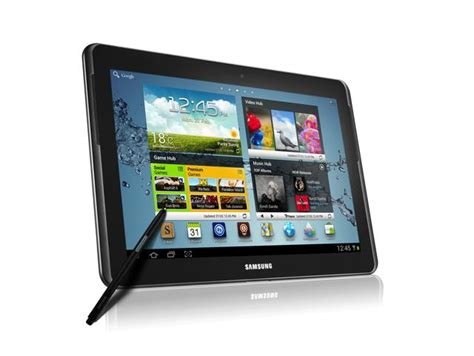 Samsung Tab 1 10 Inch samsung launches a 10 inch mobile tablet phone galaxy note 10 1