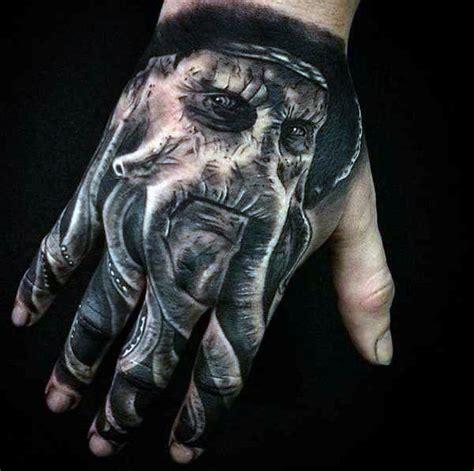 3d tattoo in hand 50 3d hand tattoo designs for men masculine ink ideas