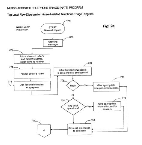 Patent Us20030097278 Telephone And Network Based Medical Triage System And Process Google Nursing Telephone Triage Template