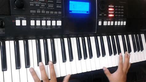 tutorial sling keyboard yamaha tutorial de piano en los montes marcos witt youtube