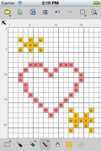 cross stitch pattern maker app stitchsketch for cross stitch knitting pattern pixel