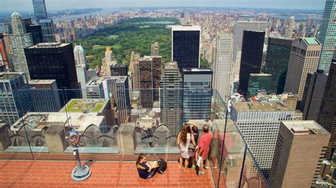 observation deck top of the rock top of the rock in new york new york expedia ca