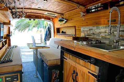 campervan kitchen design ideas  van life