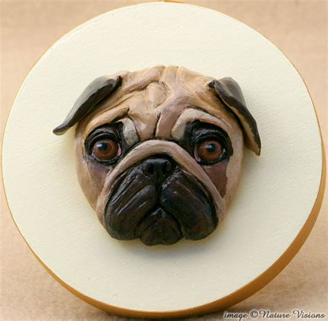 polymer clay pug 1000 images about kutya on puppys cakes and steps