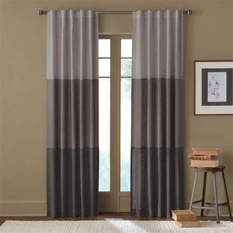 curtain colors 25 best ideas about color block curtains on pinterest