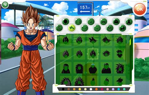 awesome website allows you to make your own dragon ball