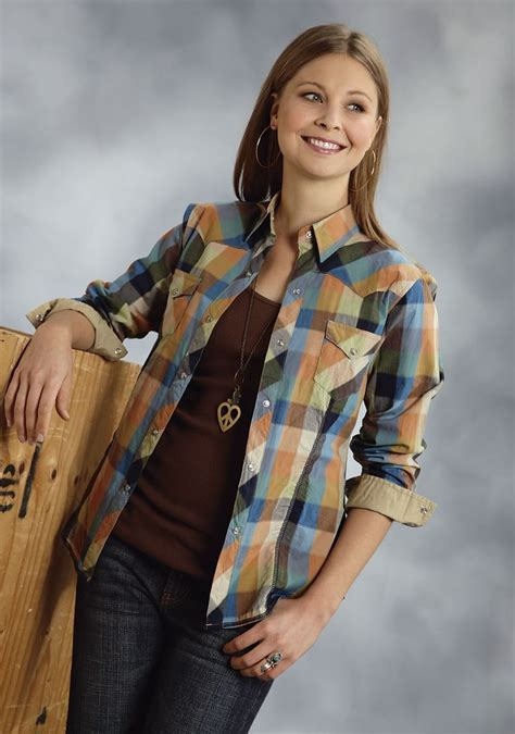 Baju Tartan Blouse Aj 20 best images about style on cowgirls plaid and western shirts