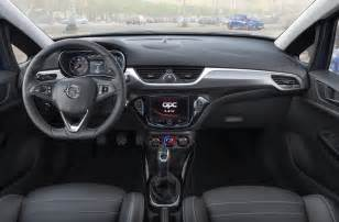 Opel Corsa 2013 Interior Opel Cars News Corsa Opc Officially Unveiled