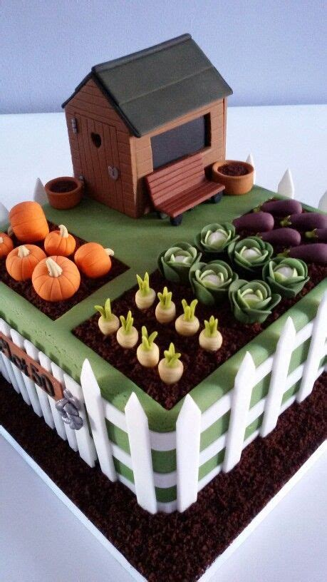 vegetable garden cake 1000 ideas about vegetable garden cake on
