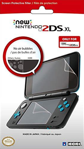Hori Nintendo New 2ds Xl 9h Tempered Glass Lcd Bottom Screen Cover compare price to hori screen protector aniweblog org