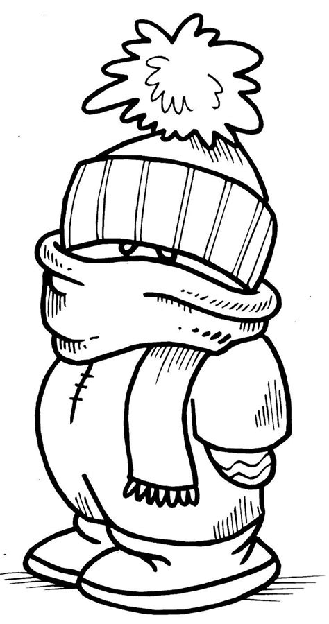 top   printable winter coloring pages